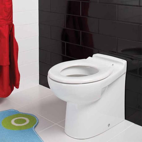 RAK - Junior Back to Wall WC Pan with Ring Seat