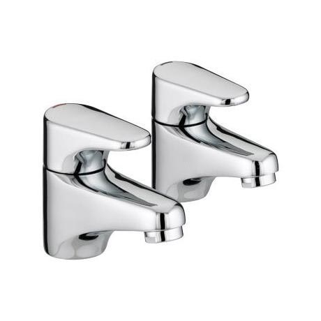 Bristan - Jute Basin Taps - Chrome - JU1/2C
