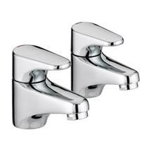 Bristan - Jute Basin Taps - Chrome - JU1/2C Medium Image
