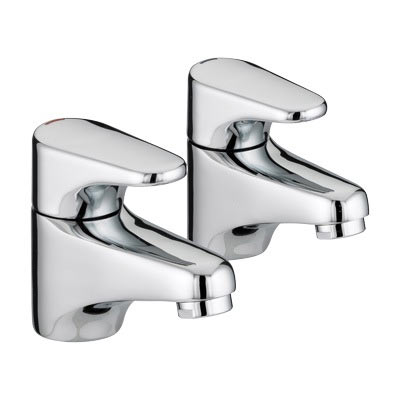 Bristan - Jute Basin Taps - Chrome - JU1/2C Large Image