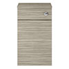 Milan Juno 500 x 253mm Driftwood WC Unit with Cistern (Excludes Pan) profile small image view 1