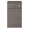 Juno 500 x 253mm Grey Avola WC Unit with Cistern (Excludes Pan) profile small image view 1