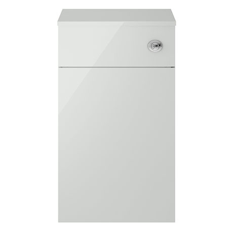 Juno 500 x 253mm Grey Mist WC Unit with Cistern (Excludes Pan)