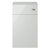 Juno 500 x 253mm Grey Mist WC Unit with Cistern (Excludes Pan) profile small image view 1