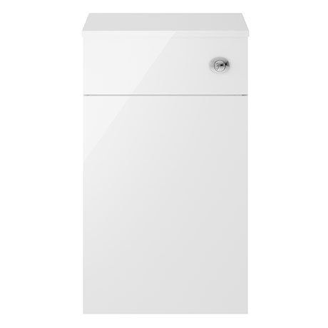 Juno 500 x 253mm Gloss White WC Unit with Cistern (Excludes Pan)