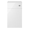 Juno 500 x 253mm Gloss White WC Unit with Cistern (Excludes Pan) profile small image view 1
