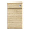 Juno 500 x 253mm Natural Oak WC Unit with Cistern (Excludes Pan) profile small image view 1