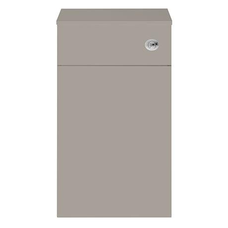 Juno 500 x 253mm Stone Grey WC Unit with Cistern (Excludes Pan)