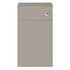 Juno 500 x 253mm Stone Grey WC Unit with Cistern (Excludes Pan) profile small image view 1