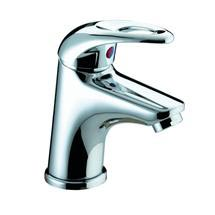 Bristan Java Contemporary Small Basin Mixer with Clicker Waste - Chrome - J-SMBAS-C Medium Image