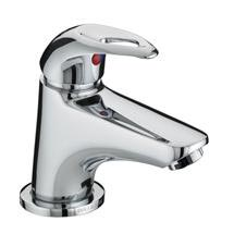 Bristan Java Contemporary Miniature Basin Mixer with Pop-up Waste - Chrome - J-MBAS-C Medium Image