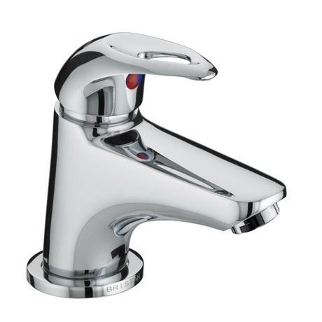 Bristan Java Contemporary Miniature Basin Mixer with Pop-up Waste - Chrome - J-MBAS-C