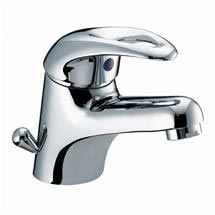 Bristan Java Contemporary Basin Mixer with Side Action Pop-up Waste - Chrome - J-BASSW-C Medium Image