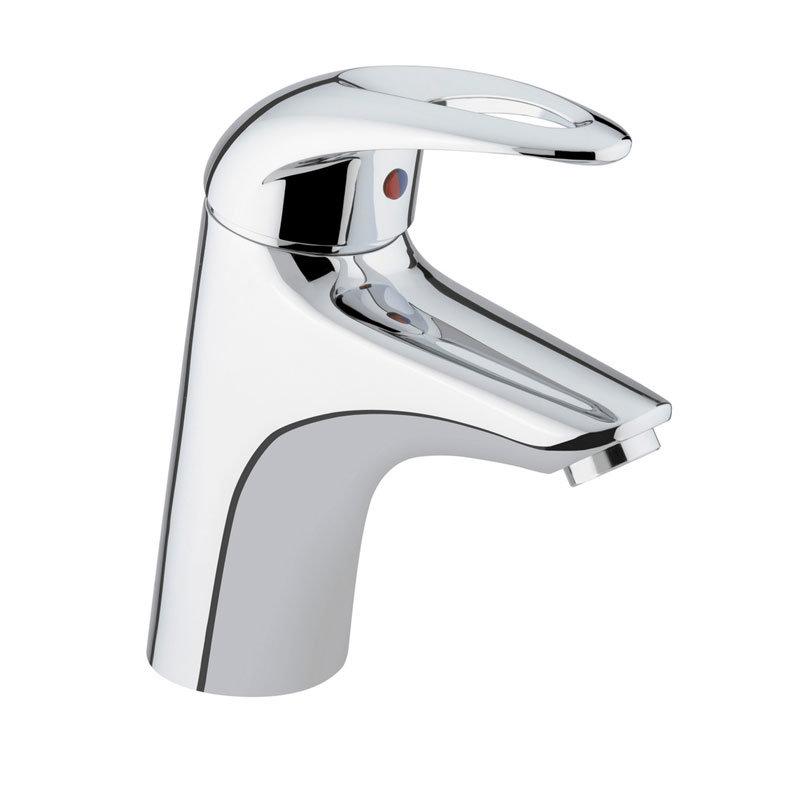 Bristan Java Contemporary 1 Hole Bath Filler - Chrome - J-1HBF-C Large Image