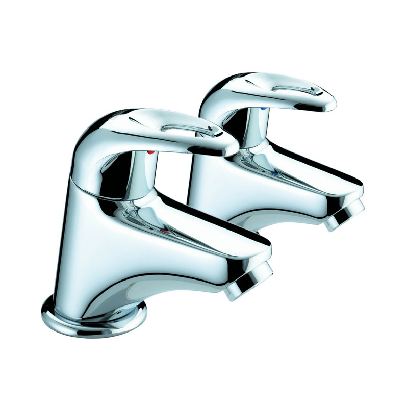 Bristan Java Contemporary Bath Taps - Chrome - J-3/4-C Large Image