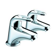 Bristan Java Contemporary Bath Taps - Chrome - J-3/4-C Medium Image