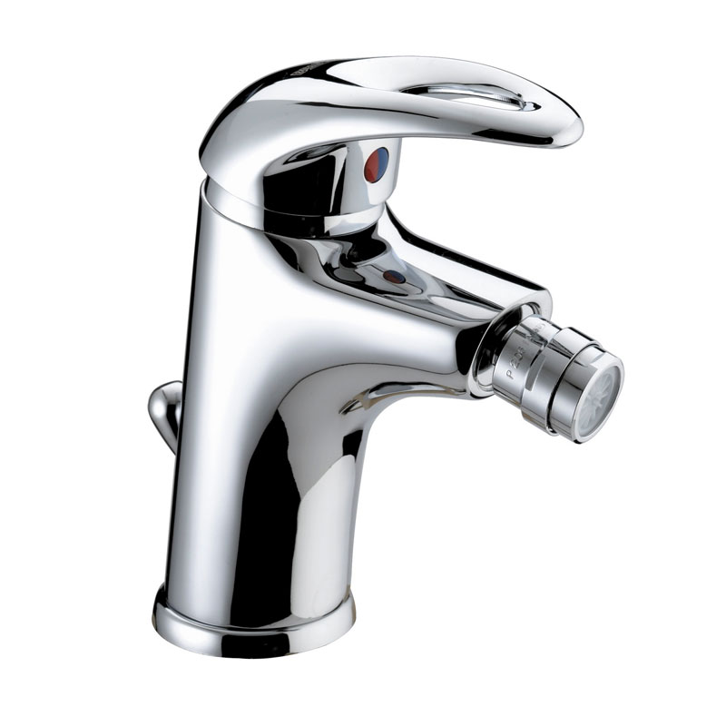 Bristan Java Contemporary Bidet Mixer with Pop-up Waste - Chrome - J-BID-C Large Image