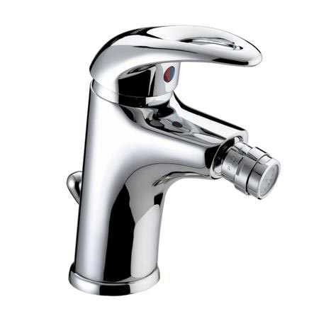 Bristan Java Contemporary Bidet Mixer with Pop-up Waste - Chrome - J-BID-C