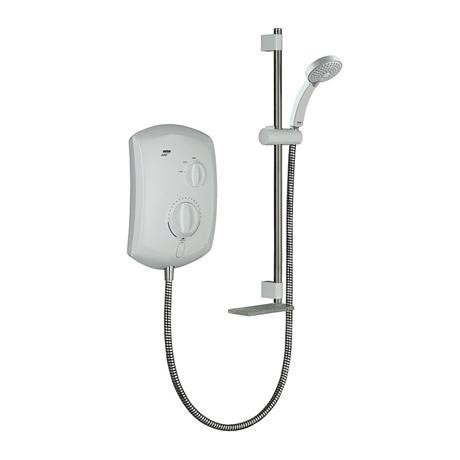 Mira - Jump Electric Shower - White & Chrome - Available in 8.5, 9.5 or 10.8KW