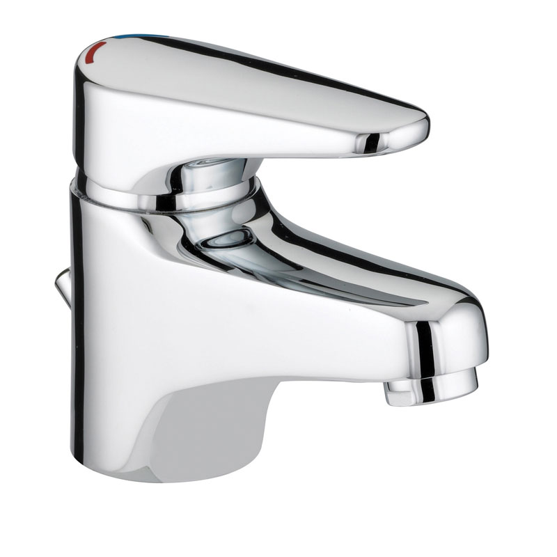 Bristan - Jute Basin Mixer with Eco Click - Chrome - JU-EBAS-C