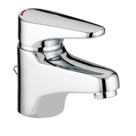 Bristan - Jute Basin Mixer with Eco Click - Chrome - JU-EBAS-C