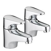 Bristan - Jute Bath Taps - Chrome - JU-3/4-C Medium Image