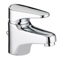 Bristan - Jute Basin Mixer With Pop Up Waste - Chrome - JU-BAS-C Medium Image