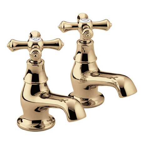 Bristan - Colonial Bath Taps - Gold Plated - K-3/4-G