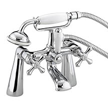 Bristan - Colonial Bath Shower Mixer - Chrome Plated - K-BSM-C Medium Image