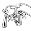 Bristan - Colonial Bath Shower Mixer - Chrome Plated - K-BSM-C profile small image view 1