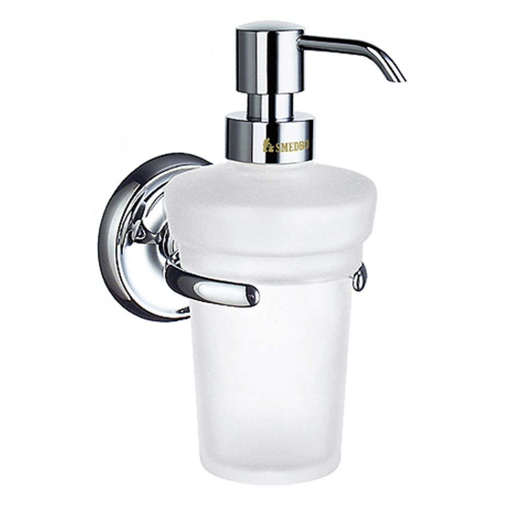 Smedbo Villa Wall Mounted Soap Dispenser - Polished Chrome - K269 profile large image view 1
