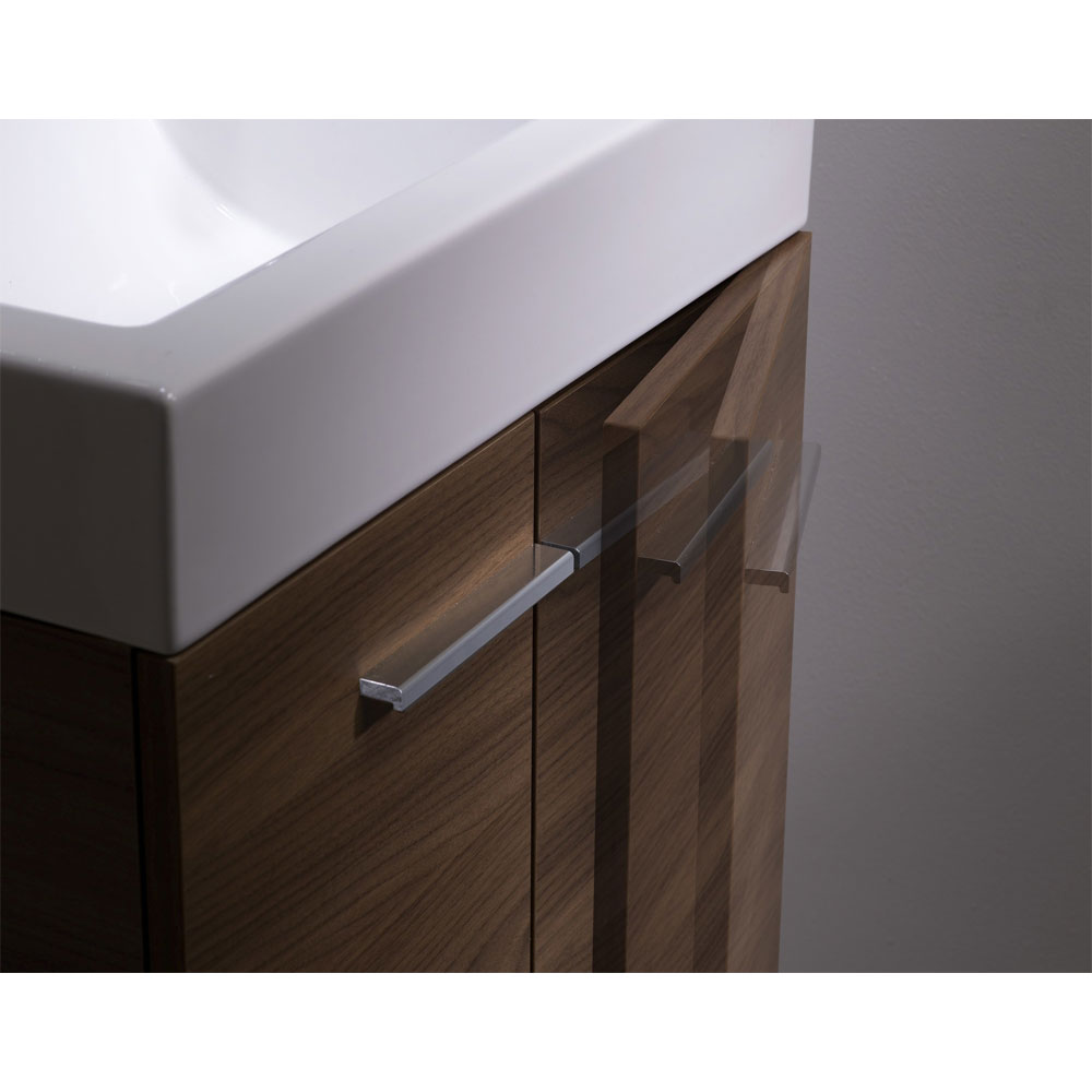 Tavistock Kobe 560mm Freestanding Unit & Basin - Walnut Profile Large Image