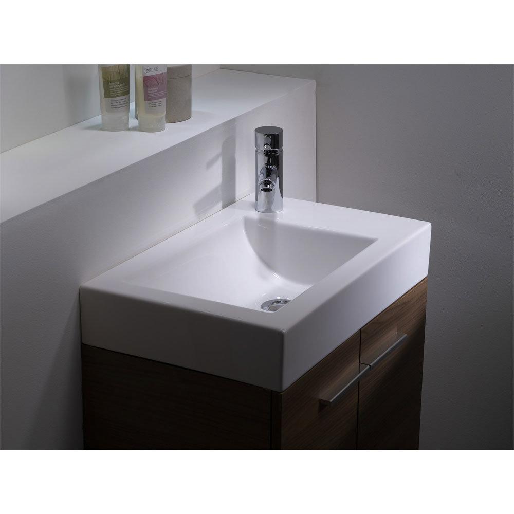 Tavistock Kobe 560mm Freestanding Unit & Basin - Walnut Feature Large Image