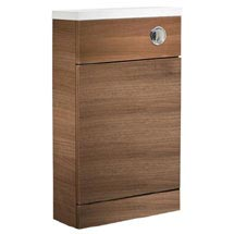 Tavistock Kobe 500mm Back to Wall Unit - Walnut Medium Image