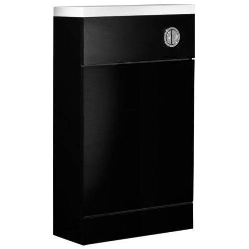 Tavistock Kobe 500mm Back to Wall Unit - Gloss Black profile large image view 1
