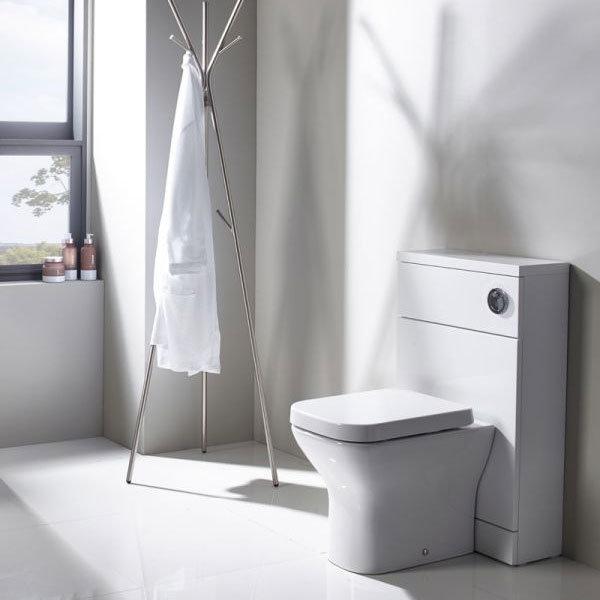 Tavistock Kobe 500mm Back to Wall Unit - Gloss White profile large image view 2