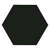 Kai Black Hexagon Wall and Floor Tiles - 258 x 290mm Small Image