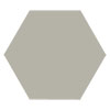 Kai Light Grey Hexagon Wall and Floor Tiles - 258 x 290mm Small Image