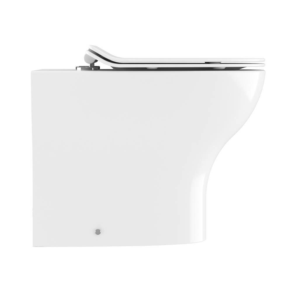 Crosswater Kai Back to Wall Pan + Soft Close Thin Seat