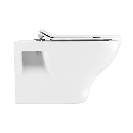 Crosswater Kai Wall Hung Pan + Soft Close Thin Seat