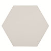 Kai White Hexagon Wall and Floor Tiles - 258 x 290mm Small Image