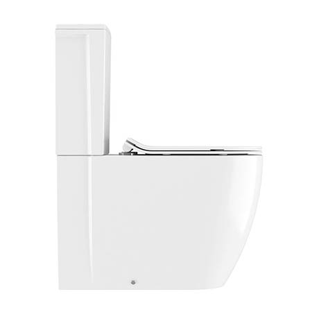 Crosswater Kai X Compact Close Coupled Toilet + Soft Close Thin Seat