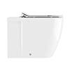Crosswater Kai X Back to Wall Pan + Soft Close Thin Seat profile small image view 1
