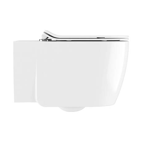 Crosswater Kai X Wall Hung Pan + Soft Close Thin Seat
