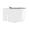Crosswater Kai X Wall Hung Pan + Soft Close Thin Seat profile small image view 1