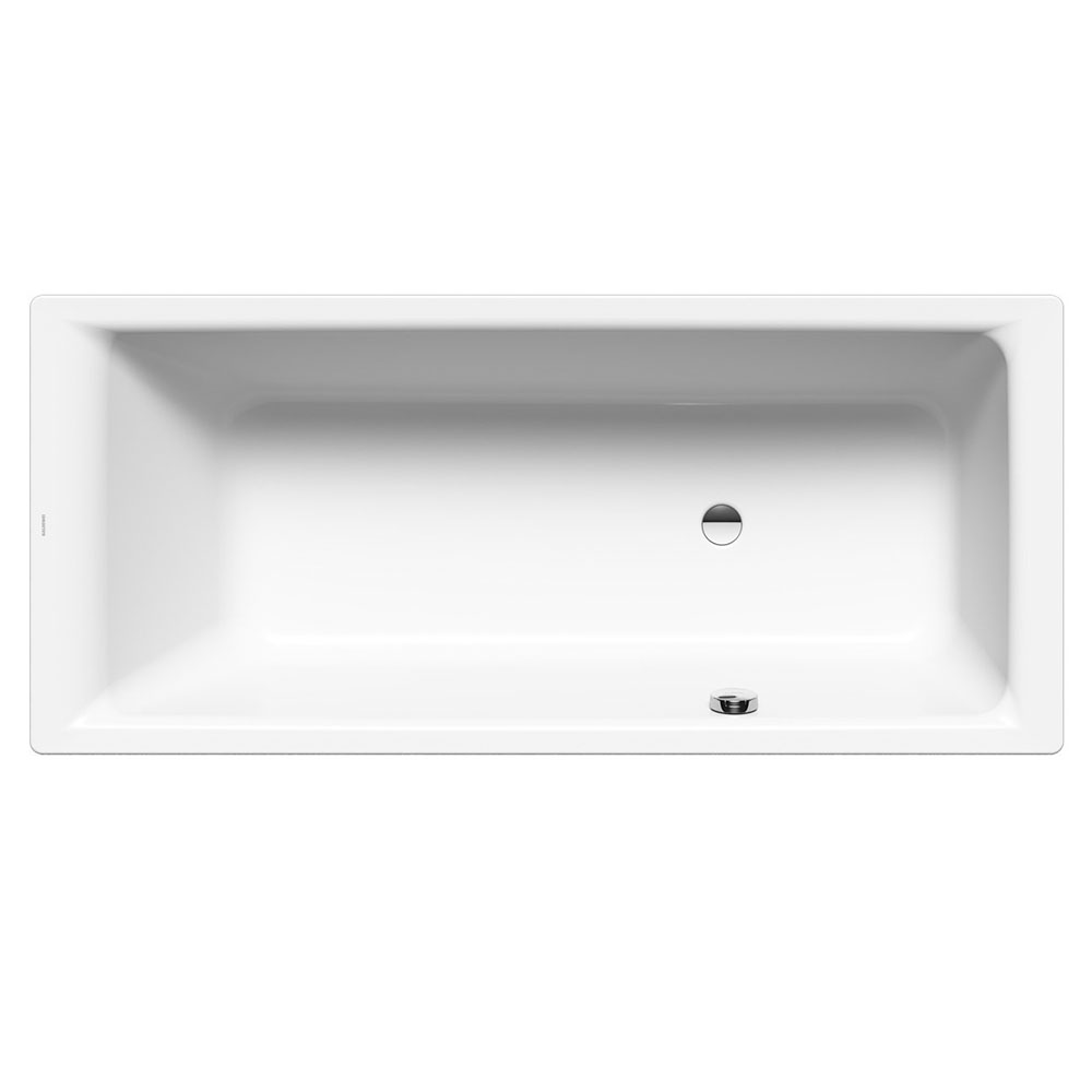 Kaldewei   Puro Steel Bath with Side Overflow and Leg Set at ...