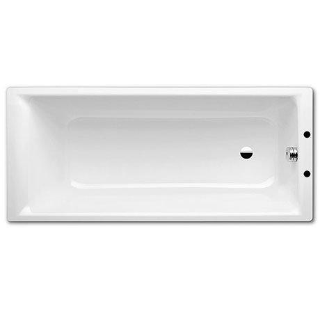 Kaldewei Puro 2TH Steel Bath with Standard Overflow + Leg Set