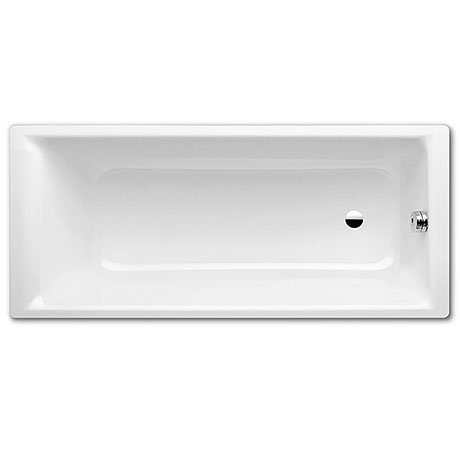 Kaldewei Puro 0TH Steel Bath with Standard Overflow + Leg Set