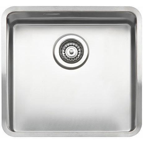 Reginox Kansas 40x40 1.0 Bowl Stainless Steel Kitchen Sink