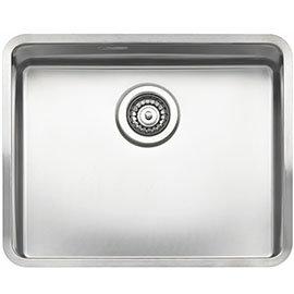 Reginox Kansas 50x40 1.0 Bowl Stainless Steel Kitchen Sink